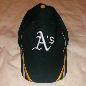 Oakland Athletics Green NewEra Velcro Baseball-hat